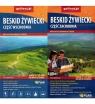 Beskid Żywiecki część wschodnia - zachodnia zestaw 1:25 000 - mapa turystyczna