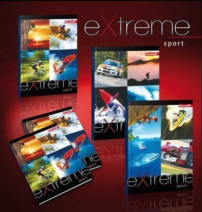 Zeszyt A5/32K/BR kratka 10 szt. Extreme Sport