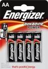 Baterie. 4x bateria alkaliczna. Energizer Alkaline Power AA-LR6  (EN-246599)