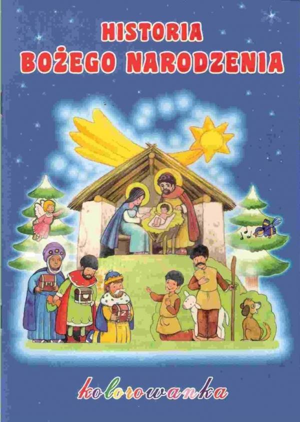 Historia Bożego Narodzenia - kolorowanka AGNUS praca zbiorowa
