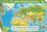 Puzzle edukacyjne Zwierzęta Świata. Mapa Młodego Odkrywcy 260 elementów