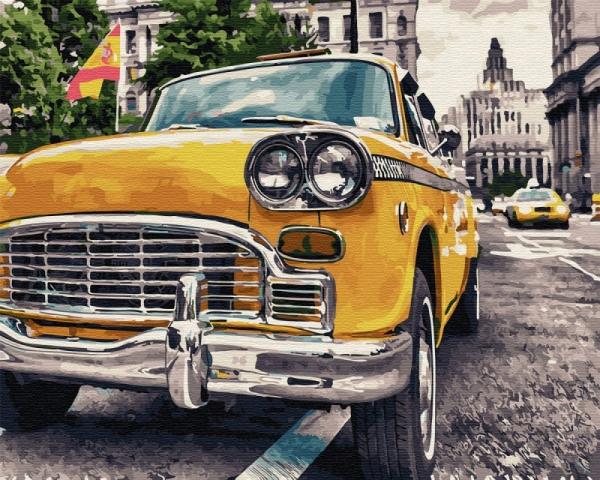 Obraz Malowanie po numerach Samochód (GX34022)