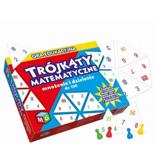 Trójkąty Matematyczne: mnożenie i dzielenie do 100 (30060)