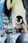Mini kartka 3D Pingwin