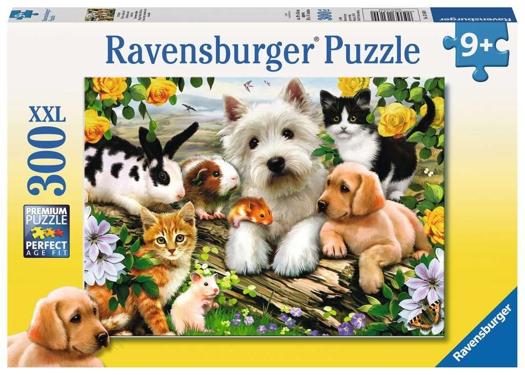 Puzzle XXL 300: Szczęśliwe zwierzęta (13160)