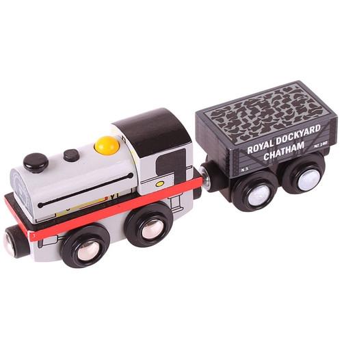 Pociąg Rolling Stock Lokomotywa z wagonikiem