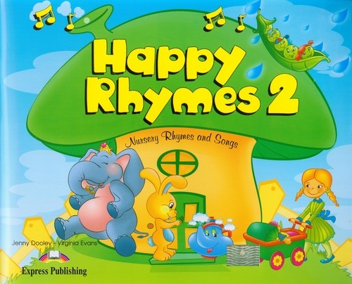 Happy Rhymes 2 Pupil's Book + CD + DVD Dooley Jenny, Evans Virginia