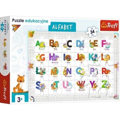 Puzzle edukacyjne 34: Alfabet (15560)