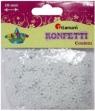 Konfetti płatki śniegu, białe, 10 mm