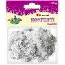 Konfetti 14g, płatki śniegu - białe (284803)