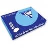 Papier kolorowy Trophee A4 - niebieski królewski 80 g (xca41976)