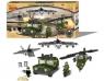 Klocki Zestaw wojskowy Military 428 elementów