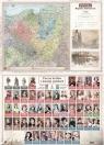 Podkładka na biurko A2 regiony historyczne/poczet królów i książąt
