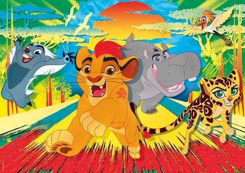 Puzzle Supercolor Lion Guard 60 (26960)