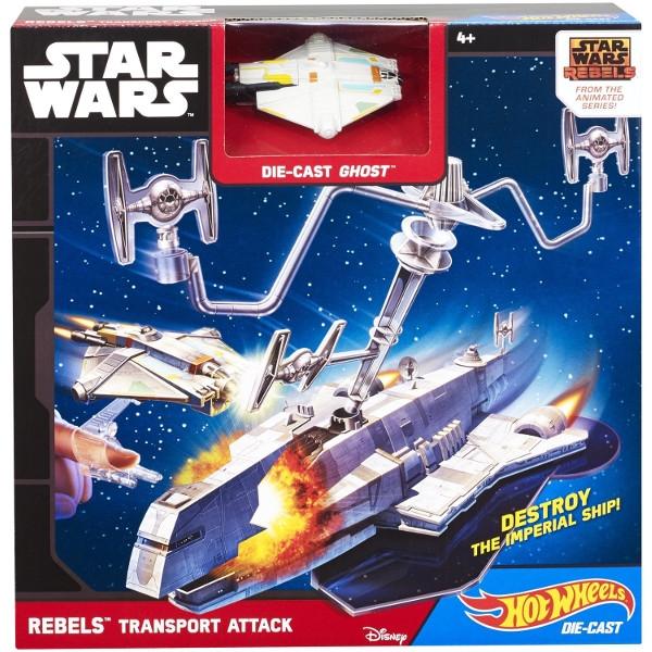 HOT WHEELS Star Wars Zestaw Rebels (CGN33/CGN35)