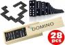 Domino w drewnianym pudełku 28 części