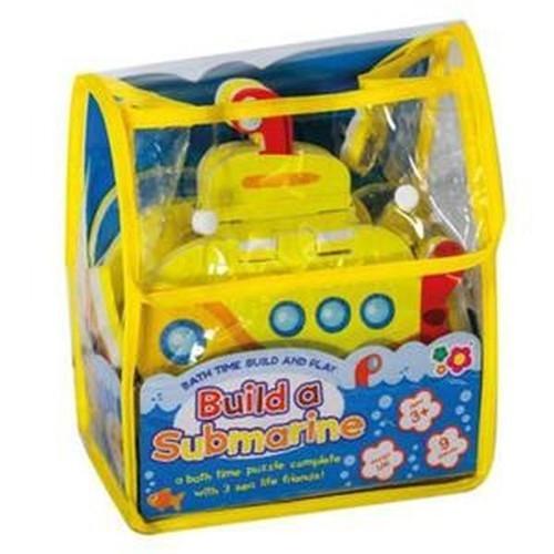 Puzzle do zabawy podczas kąpieli - Zbuduj łódź podwodną (MK196)