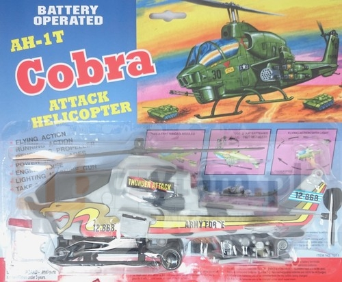 Helikopter AH-1T Cobra szary