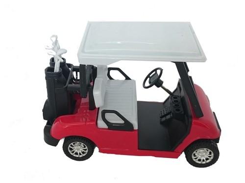 Wózek golfowy czerwony