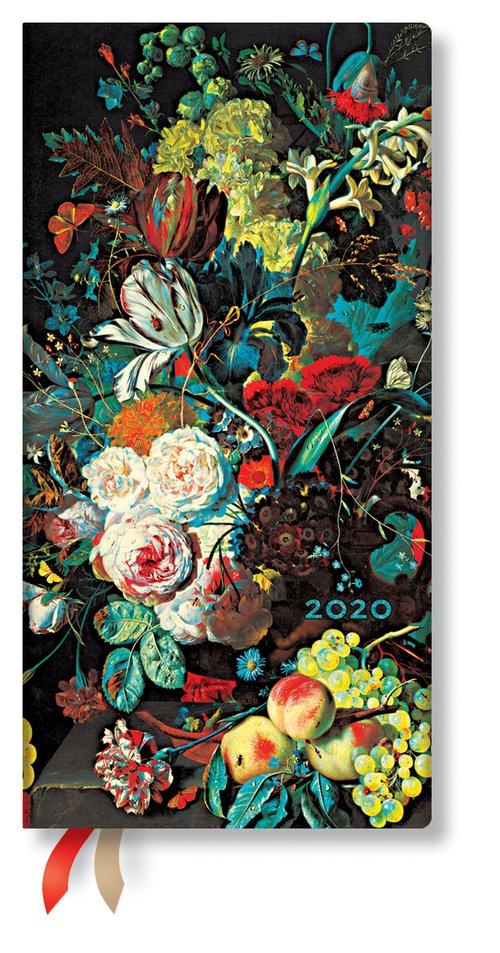 Kalendarz 2020 Slim Horizontal  Van Huysum 12m