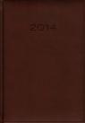 Kalendarz 2014 A5 21D Bordo dzienny