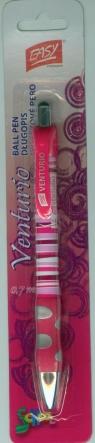 Długopis Blister Venturio różowy