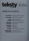 Teksty drugie 1/2014