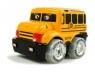 Autobus Busik Deluxe + akcesoria dla dzieci żółty