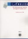 Anglica An International Journal of English Studies 22/1 2013