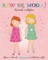 Baw się modą z naklejkami - Różowa