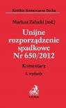 Unijne rozporządzenie spadkowe Nr 650/2012 praca zbiorowa