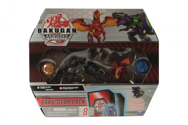 Bakugan: Armored Alliance. Baku-Gear Pack - Trox Ultra + Baku-Gear, Pegatrix Ultra, Howlkor, Nillious (6056037/20122677)