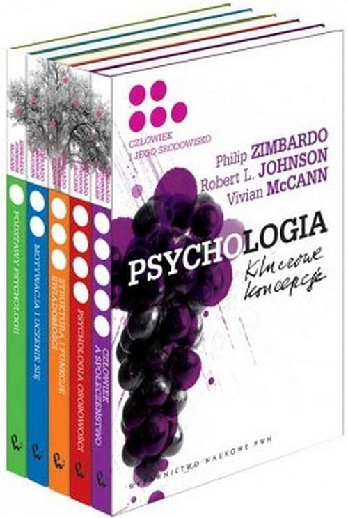 Psychologia Kluczowe koncepcje Tom 1-5 Zimbardo Philip G., Johnson Robert L., McCann Vivian