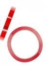 Taśma pakowa 12 mm x 60 m, czerwona