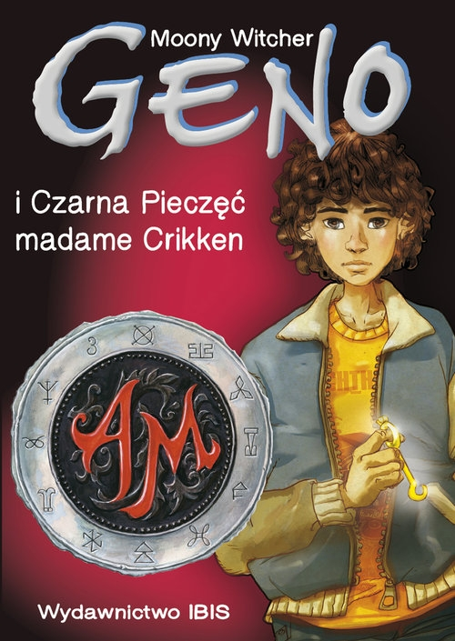 Geno i Czarna Pieczęć madame Crikken Tom 1 Moony Witcher