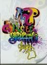 Zeszyt A5 w kratkę 32 kartki Graffiti