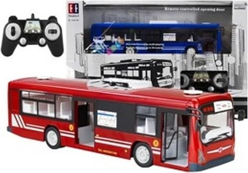 Autobus zdalnie sterowany 2,4GHz Zasięg 30m czerwony