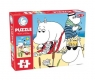 Moomin Floor Puzzle Plaża 35