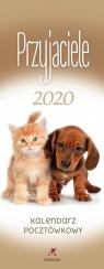Kalendarz 2020 Pocztówkowy Przyjaciele