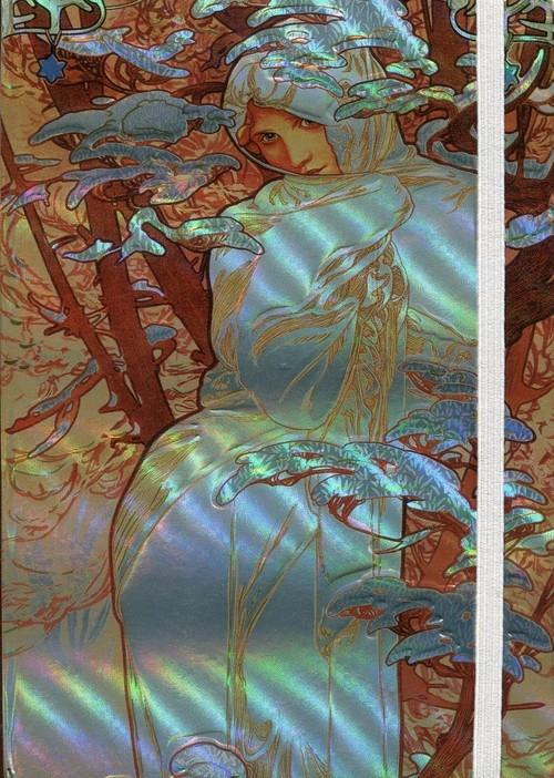 Notatnik Narcissus Mucha 12x17 mix wzorów