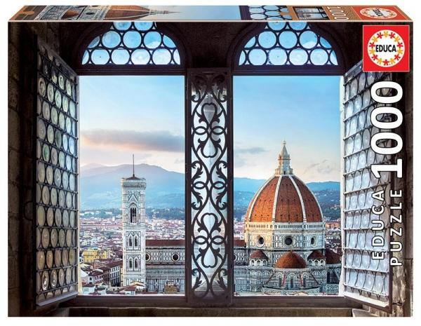 Puzzle 1000: Widok na Florencję (18460)
