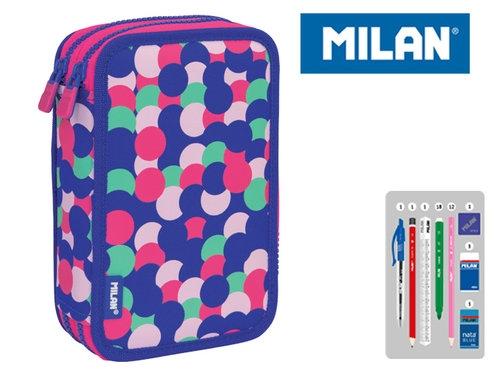 Piórniki MILAN 2-poziomowy z wyposażeniem DOTTY