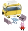 Świnka Peppa: Kamper Peppy z figurką - seria 2