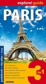 Paris guidebook + city atlas + map 3 in 1 .