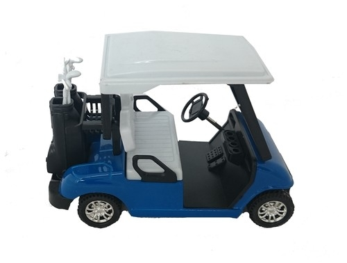 Wózek golfowy niebieski