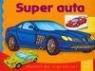 Super auta. Malowanka z naklejkami 3-6 lat