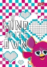 Brulion A5 Furby w kratkę 96 kartek A mind of its own