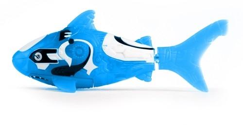 Robofish Rybka i 2 koralowce niebieski rekin