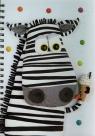 Notatnik A4 Zebra