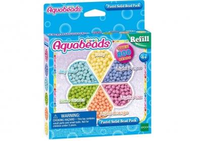Aquabeads Pastelowe koraliki